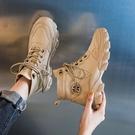 馬丁靴 女鞋2020年新款2021春季春秋單靴春款爆款短靴【新品狂歡】