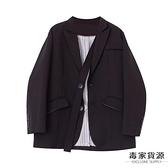 設計感小西裝秋裝韓版女小西服西裝外套【毒家貨源】