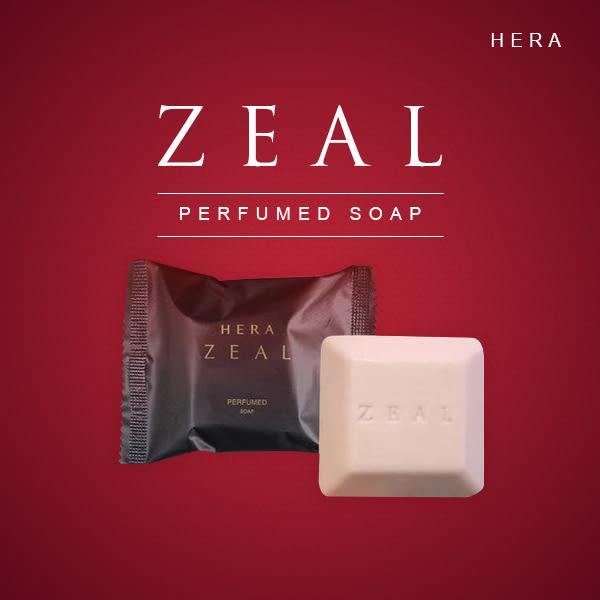 韓國 HERA ZEAL 赫拉 香水皂 60g 天然保濕玫瑰花潔面皂沐浴皂【PQ 美妝】