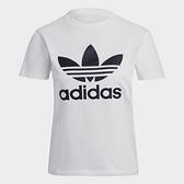 Adidas Originals ADICOLOR 女裝 短袖 休閒 棉質 三葉草 白【運動世界】GN2899