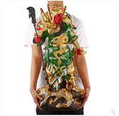 九龍關公像擺件彩繪關二爺武財神爺佛像客廳招財裝飾 滿千89折限時兩天熱賣