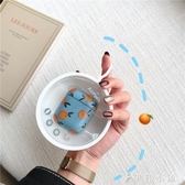 ins韓國少女心橘子AirPods1/2保護套蘋果無線藍芽耳機盒 伊鞋本鋪