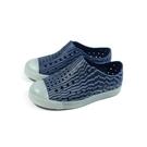 native CHALLENGER GLOW PRINT 懶人鞋 洞洞鞋 深藍/條紋 小童 童鞋 no023