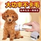 寵物剃毛器 寶潤寵物電推剪充電式理發器P3狗推子家用泰迪小型犬狗狗剃毛器 阿薩布魯