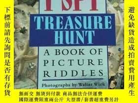二手書博民逛書店I罕見Spy treasure hunt: A BOOK OF