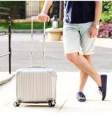 拉桿箱18寸小型迷你行李箱登機箱旅行箱萬向輪男密碼皮箱子igo  提拉米蘇