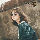 Queen Shop【07070142】長橢圓造型眼鏡*現+預*