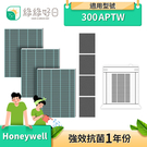 綠綠好日 抗菌 一年份濾芯濾網組 適 Honeywell HPA-300APTW 空氣清淨機