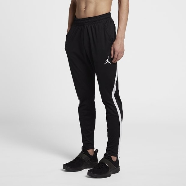 NIKE Dri-FIT Jordan 23 Alpha 男裝 長褲 休閒 修身 訓練 柔軟 黑白 【運動世界】 889712-014