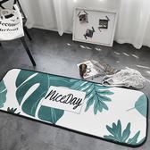 時尚創意地墊210 廚房浴室衛生間臥室床邊門廳 吸水長條防滑地毯(50*150cm)