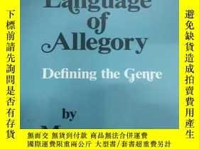 二手書博民逛書店The罕見Language of Allegory: Defin