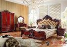 【大熊傢俱】RE809新古典床 歐式 皮床 雙人床  床架   歐式古典 雙人床台 五尺床 六尺床