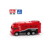 A&L奧麗迷你合金車 NO.39 消防救援後備車 滑行車 消防車 搶救車 模型車(1:64)【楚崴玩具】