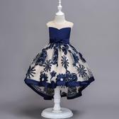 兒童禮服 夏季女童洋裝超洋氣女寶寶蓬蓬紗裙子夏裝兒童禮服公主裙