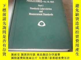 二手書博民逛書店ISA罕見19th Annual Conference PROCEEDINGS(第19屆年會論文集)1964 vo