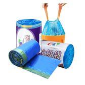 e潔自動收口垃圾袋加厚手提式45*50cm*100只一次性垃圾桶袋