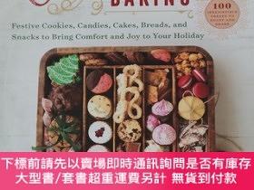 二手書博民逛書店christmas罕見baking festive cookies candies cakes breads an