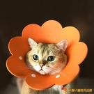 貓咪伊麗莎白圈花花貓狗狗項圈脖圈防舔頭套【小獅子】