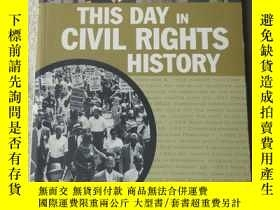 二手書博民逛書店This罕見Day in Civil Rights Histor