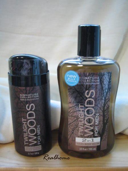 *禎的家* BBW Bath & Body Works 男士禮品 暮光森林 二合一洗髮沐浴 + 噴霧