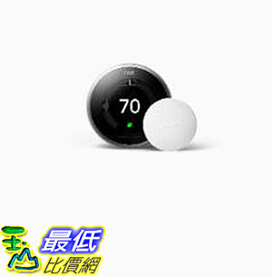 [8美國直購] Nest Learning Thermostat and Nest Temperature Sensor Bundle