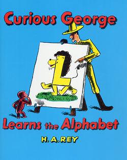 『鬆聽出英語力--第47週』- CURIOUS GEORGE LEARNS ALPHABET /繪本單書
