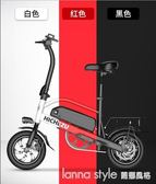 折疊電動自行車成人鋰電池助力電瓶車男女士小型代駕電動車  YDL
