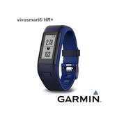 Garmin vívosmart® HR+ 腕式心率GPS智慧手環-都市藍