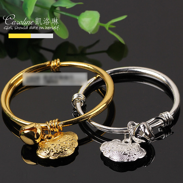 《Caroline》★【長命富貴】925銀手環.典雅設計優雅時尚品寶寶手環68273