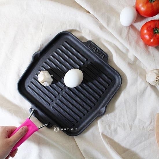 8折│土耳其LAVA 摺疊煎烤盤21cm (共2色)