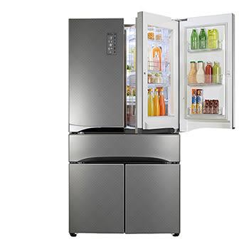 LG 超聲動 鮮活六門冰箱 GR-DBF85S 鑽紋銀 836公升 首豐家電