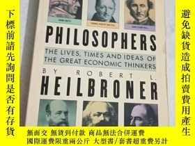 二手書博民逛書店the罕見worldly philosophers heilbr