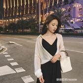 GG白色防曬襯衣薄款雪紡開衫外套女夏心機上衣不規則設計感襯衫   時尚潮流