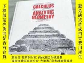 二手書博民逛書店CALCULUS罕見AND ANALYTIC GEOMETRY(