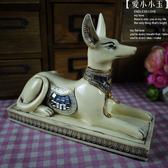 【阿努比斯:埃及狗神像】時尚主題酒吧會所 趣味家居裝飾品擺件