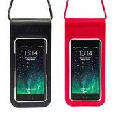 狼巖手機防水袋潛水套觸屏游泳手機包通用水下拍照手機袋蘋果華為「Top3c」