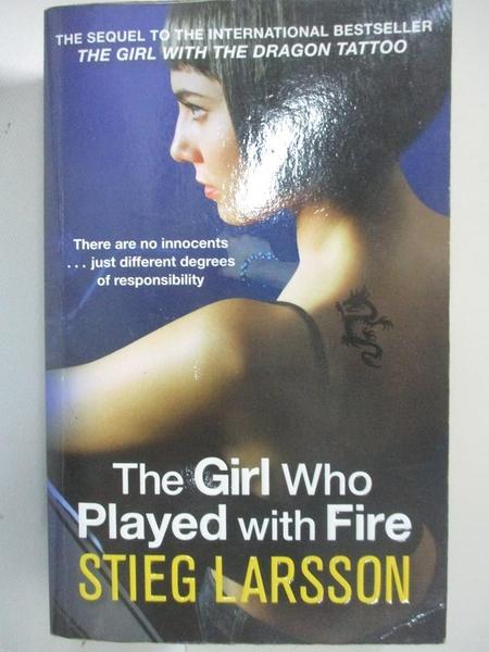 【書寶二手書T2/原文小說_BCX】The Girl Who Played with Fire_Stieg Larsson