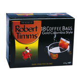 Robert Timms黃金哥倫比亞濾袋咖啡5.83*18【愛買】