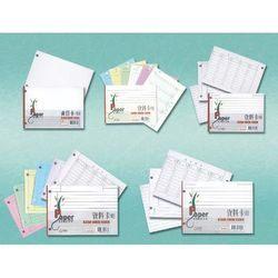 《享亮商城》21703  50K 2孔資料卡(彩色)