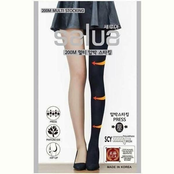 ●魅力十足● 韓國salua 科學壓力提臀塑腿褲襪 200M