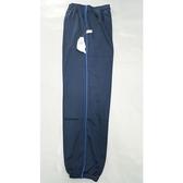 【MIT】台灣製造工作運動褲【6918-2-M】 束口褲管-藍色 側邊細藍色條●夏季限定≡輕薄【 守門員】