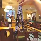 手機掛繩韓國ins風可愛小樹掛脖寬帶可拆卸不勒脖通用紫色個性女 快意購物網