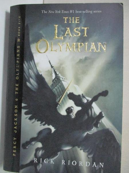 【書寶二手書T1/原文小說_COF】The Last Olympian_Riordan, Rick