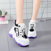 內增高鞋 內增高10cm運動鞋韓版百搭2018新款秋季鞋子韓版百搭