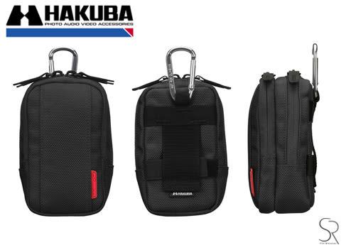 【聖影數位】HAKUBA PIXGEAR TWINPACK+CAMERA POUCH  相機套 S HA290455藍 / HA290486黑