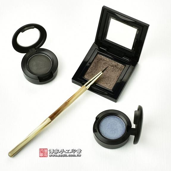 傳家全手工精製赤牛角胎毛化妝刷1支,胎毛眼線筆(小支)
