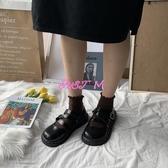 娃娃鞋女復古小皮鞋女春季新款百搭原宿軟妹厚底大頭娃娃鞋 JUST M
