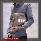 PocoPlus 新款韓版潮流 單肩斜跨包 手拿包 毛呢 文件包 潮流款包 手提包【B530】