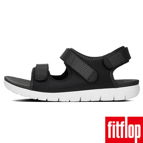 【FitFlop】NEOFLEX BACK-STRAP SANDALS(黑色)