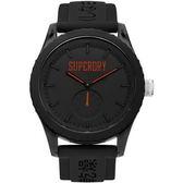 【台南 時代鐘錶 Superdry】極度乾燥 美式和風 文化衝擊潮流腕錶 Tokyo系列 SYG145BB 45mm